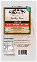 Organic Prairie Organic Slices Roast Turkey Breast 6 Oz Peg
