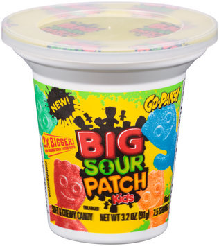 Big Sour Patch Kids Candy Go-Paks!