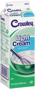 Crowley® Light Cream 1 qt.