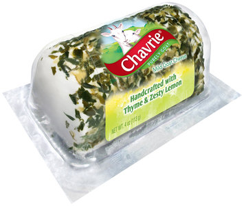 Chavrie® Mild Goat Cheese with Thyme & Zesty Lemon 4 oz. Blister
