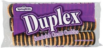 Springfield Duplex Sandwich Creme Cookies 32 Oz Tray