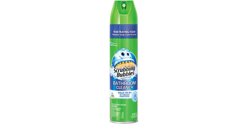 Scrubbing Bubbles Fresh Clean Scent Antibacterial Bathroom Cleaner Reviews 2019