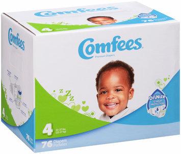 Comfees® Premium Diapers 76 ct. Box