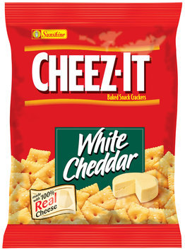 Cheez-It® White Cheddar Baked Snack Crackers 1.02 oz. Pouch