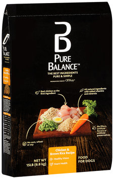 Pure Balance™ Chicken & Brown Rice Recipe Dog Food 15 lb. Bag