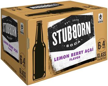 Stubborn Soda™ Lemon Berry Acai 24-12 fl. oz. Glass Bottle