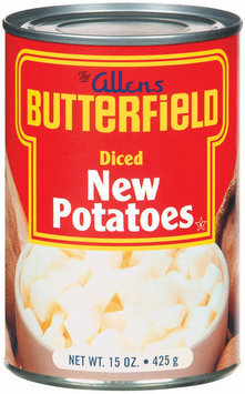 The Allens Butterfield New Diced Potatoes 15 Oz Can