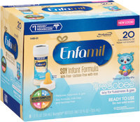 Enfamil® ProSobee® for Fussiness & Gas Ready to Use Soy Infant Formula 6-2 fl. oz. Bottles