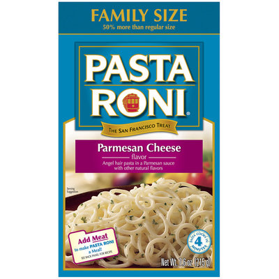 Pasta Roni Parmesan Cheese Flavor Pasta 7.6 Oz Box