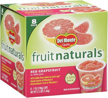 Del Monte Fruit Naturals® Red Grapefruit 8-7 oz. Cups