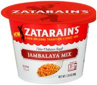 Zatarain's® Jambalaya Mix 1.75 oz. Bowl