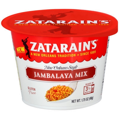 Zatarain's® Jambalaya Mix 1.75 oz. Bowl