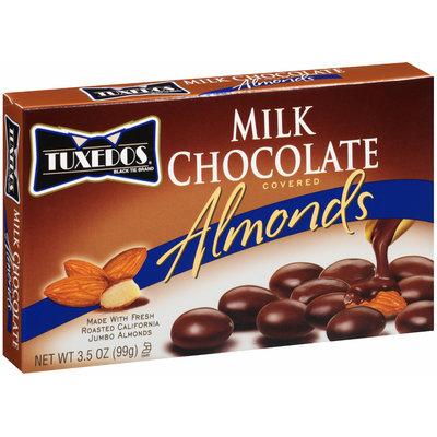 Tuxedos® Milk Chocolate Covered Almonds 3.5 oz. Box