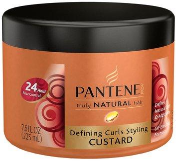Pantene Pro-V® Truly Natural Hair Defining Curls Styling Custard 7.6 fl. oz. Jar