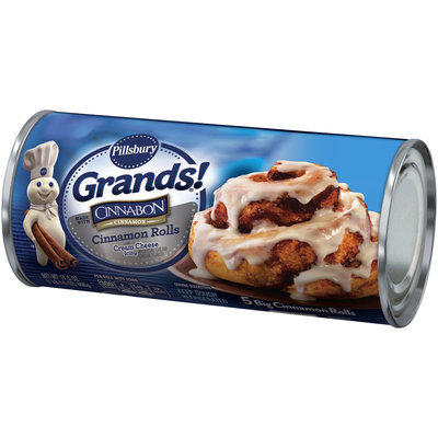Pillsbury Grands!® Cinnamon Rolls with Cream Cheese Icing 5 ct Can