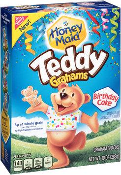 Nabisco Honey Maid Birthday Cake Teddy Grahams 10 oz. Box