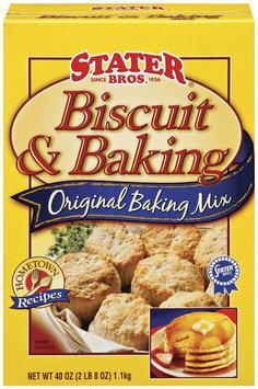 Stater Bros. Original Biscuit & Baking Mix 40 Oz Box