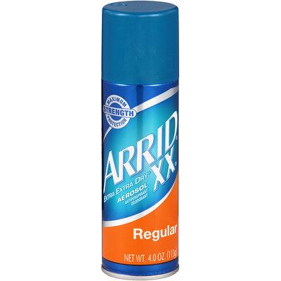 Arrid® XX® Extra Extra Dry® Regular Aerosol Antiperspirant Deodorant 4.0 oz. Can
