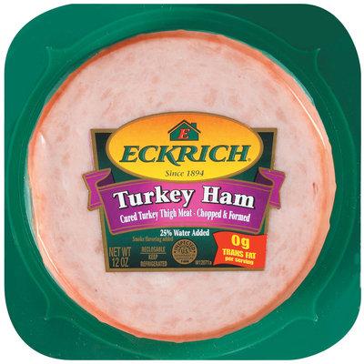 Eckrich  Turkey Ham 12 Oz Well