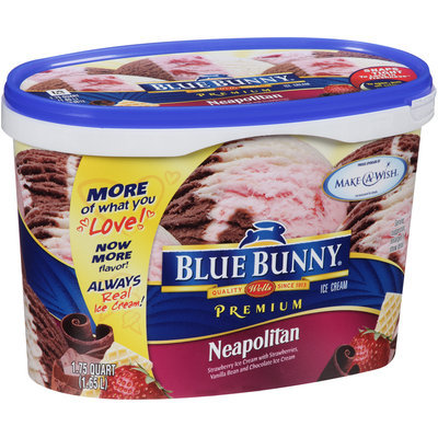 Blue Bunny® Premium Neapolitan Ice Cream 1.75 qt. Tub