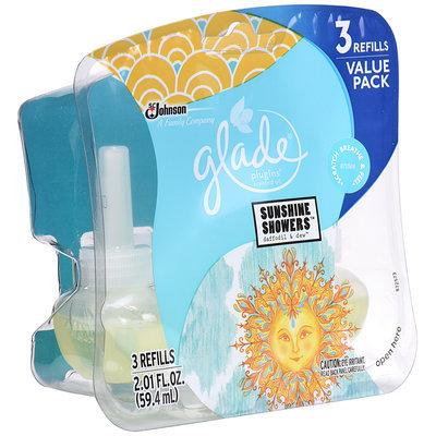 Glade® PlugIns® Sunshine Showers™ Scented Oil Refills