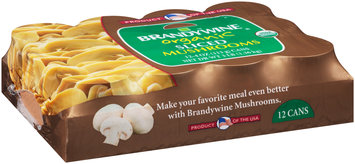 Brandywine® Organic Sliced Mushrooms 12-4 oz. Cans