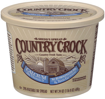 Shedd's Spread Country Crock® Calcium 39% Vegetable Oil Spread 24 oz.