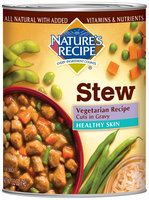 Nature's Recipe® Healthy Skin Vegetarian Recipe Cuts in Gravy Dog Food 13.2 oz. Can