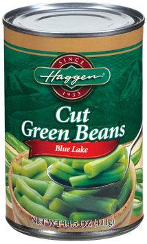 Haggen Blue Lake Cut Green Beans 14.5 Oz Can