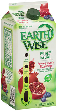 Earth Wise™ Pomegranate Blueberry Fruit Juice Beverage 59 fl. oz. Carton