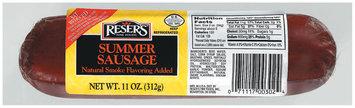 Reser's Fine Foods Summer Sausage 11 Oz Chub