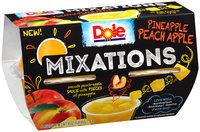 Dole® Mixations™ Pineapple Peach Apple Fruit Cups