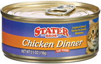 Stater Bros. Chicken Dinner Cat Food  5.5 Oz Can