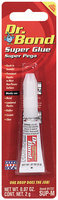 Dr. Bond® 81737 Carded Space-Saver Super Glue 2 G Tube