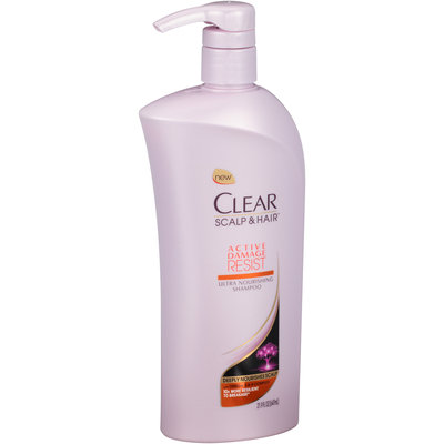 Clear Scalp & Hair™ Active Damage Resist Ultra Nourishing Conditioner 21.9 fl. oz. Pump