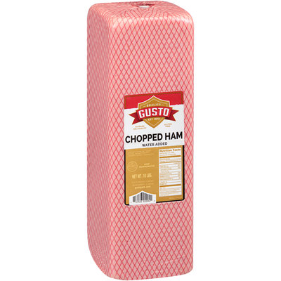 Gusto Chopped Ham 10 lb. Package