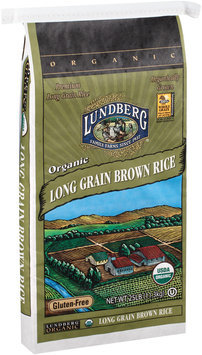 Lundberg® Organic Long Grain Brown Rice 25 lb. Bag