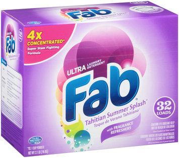 Ultra Fab® Tahitian Summer Splash® Laundry Detergent Powder 2.1 lb. Box