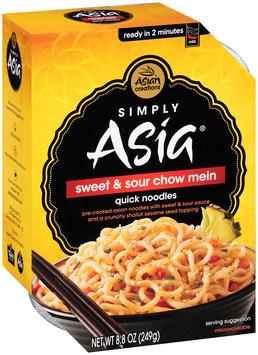 Simply Asia® Sweet & Sour Chow Mein 8.8 oz. Box