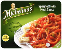 Michelina's® Spaghetti with Meat Sauce 8.5 oz. Tray