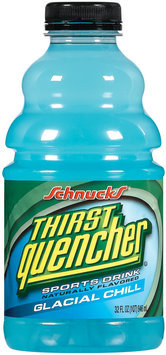 Schnucks Thirst Quencher Glacial Chill Sports Drink 32 Oz Plastic Bottle
