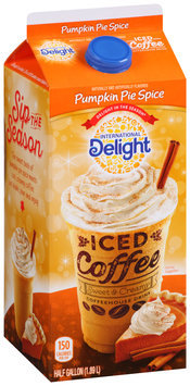 International Delight Pumpkin Pie Spice Iced Coffee 0.5 gal. Carton