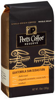 Peet's Coffee® Reserve Dark Roast Guatemala San Sebastian Whole Bean Coffee 10 oz. Bag