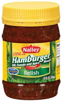 Nalley Hamburger Relish 10 Oz Jar