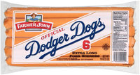 Farmer John™ Official Dodger Dogs® Extra Long Pork Wieners 6 ct. Pack