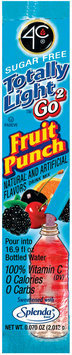 4C Psd-Tl2go Packet Fruit Punch Psd-Packet .07 Oz Packet