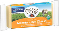 Organic Valley® Reduced Fat Monterey Jack Cheese