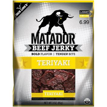 Matador® Teriyaki Beef Jerky 3 oz. Bag