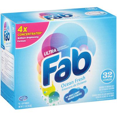 Ultra Fab® Ocean Fresh Laundry Detergent Powder 2.1 lb. Box