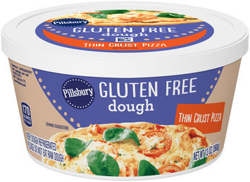 Pillsbury Gluten Free Thin Crust Pizza Dough 13 oz. Tub